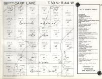 Carp Lake T50N-R44W, Ontonagon County 1959